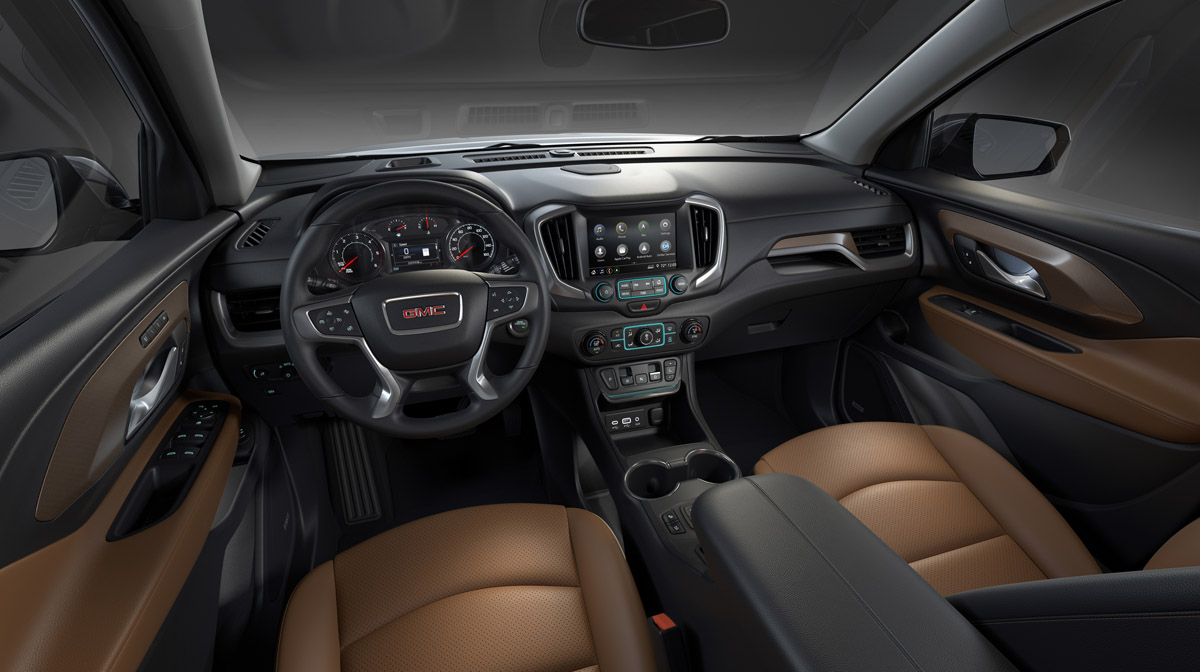 2018 All-New GMC Terrain SLT Interior