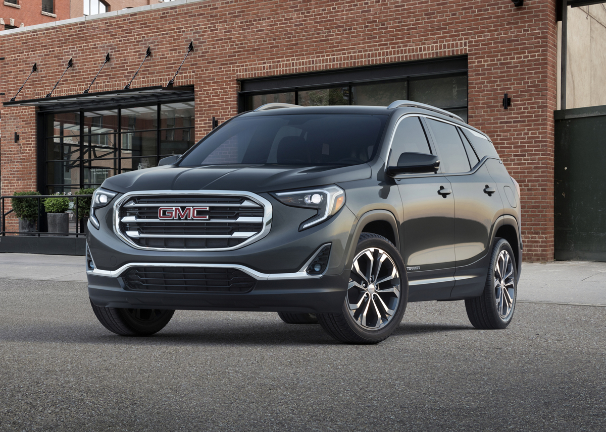 first look 2018 gmc terrain testdriven tv. Black Bedroom Furniture Sets. Home Design Ideas