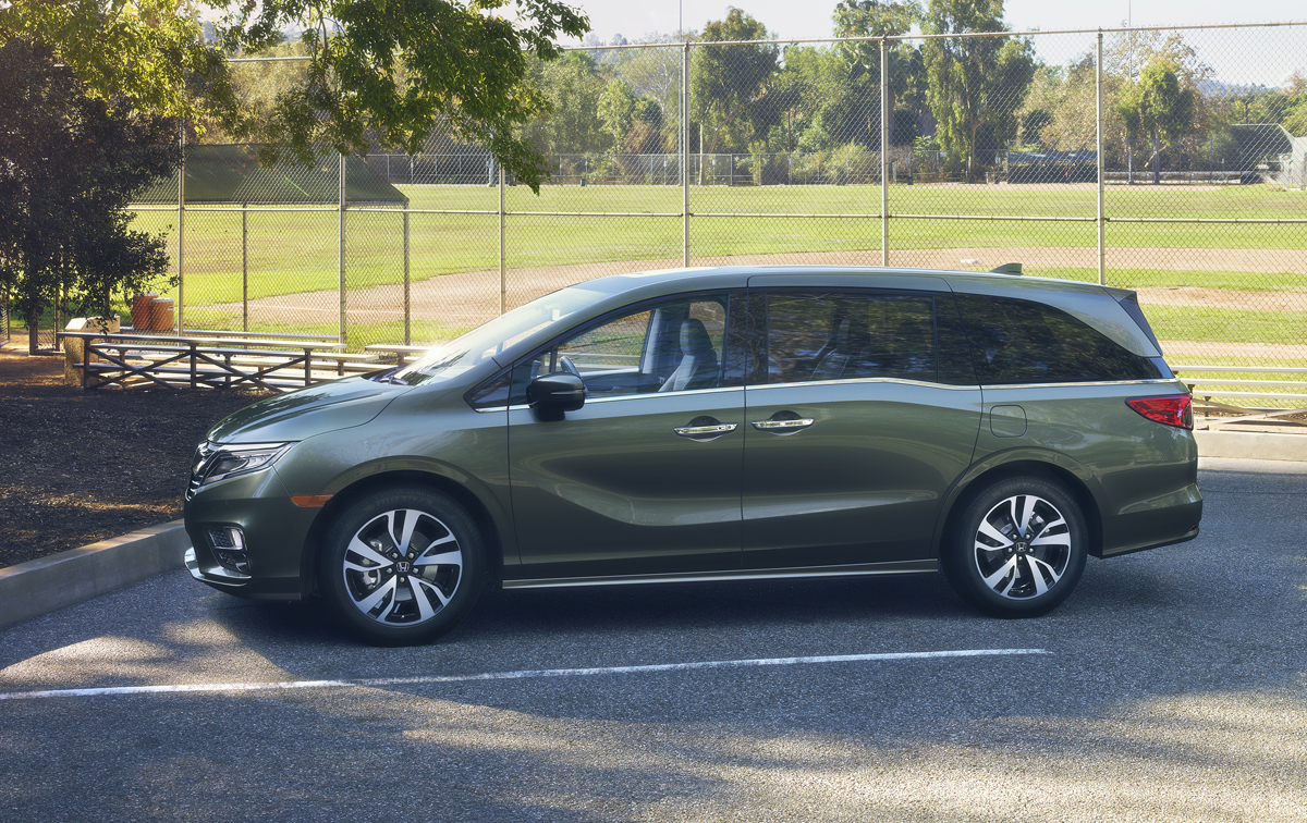 Built in Lincoln, Alabama the 2018 Honda Odyssey was designed and ...