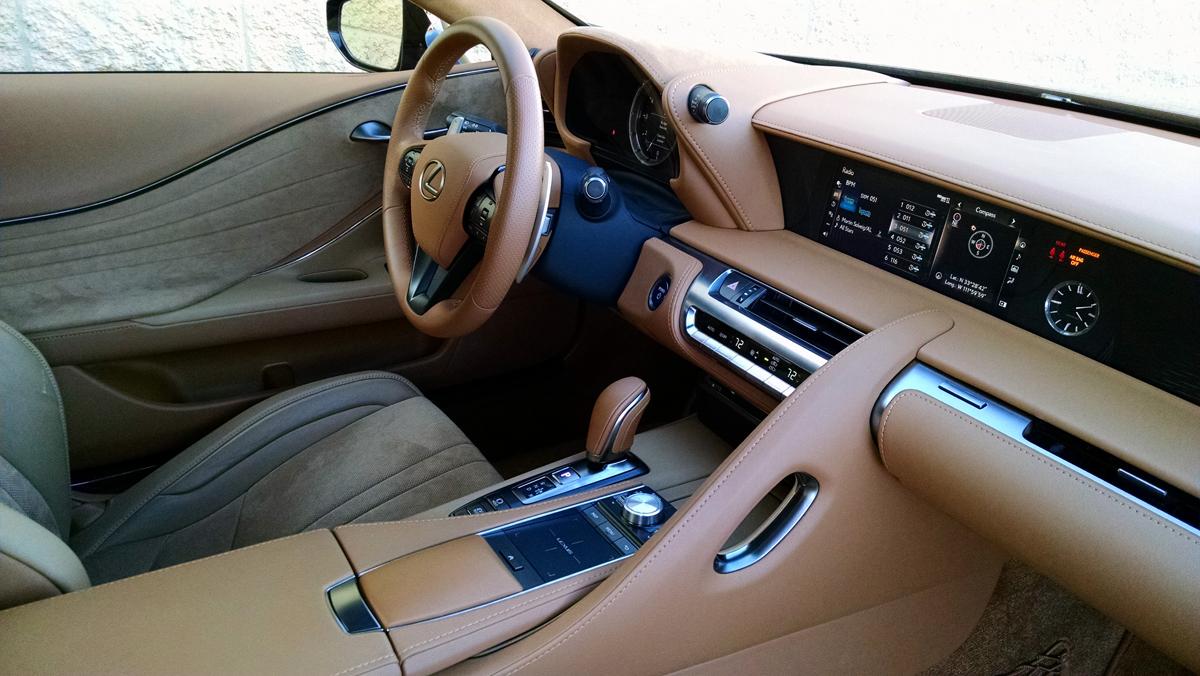 Test Drive 2018 Lexus Lc500h Hybrid Testdriven Tv