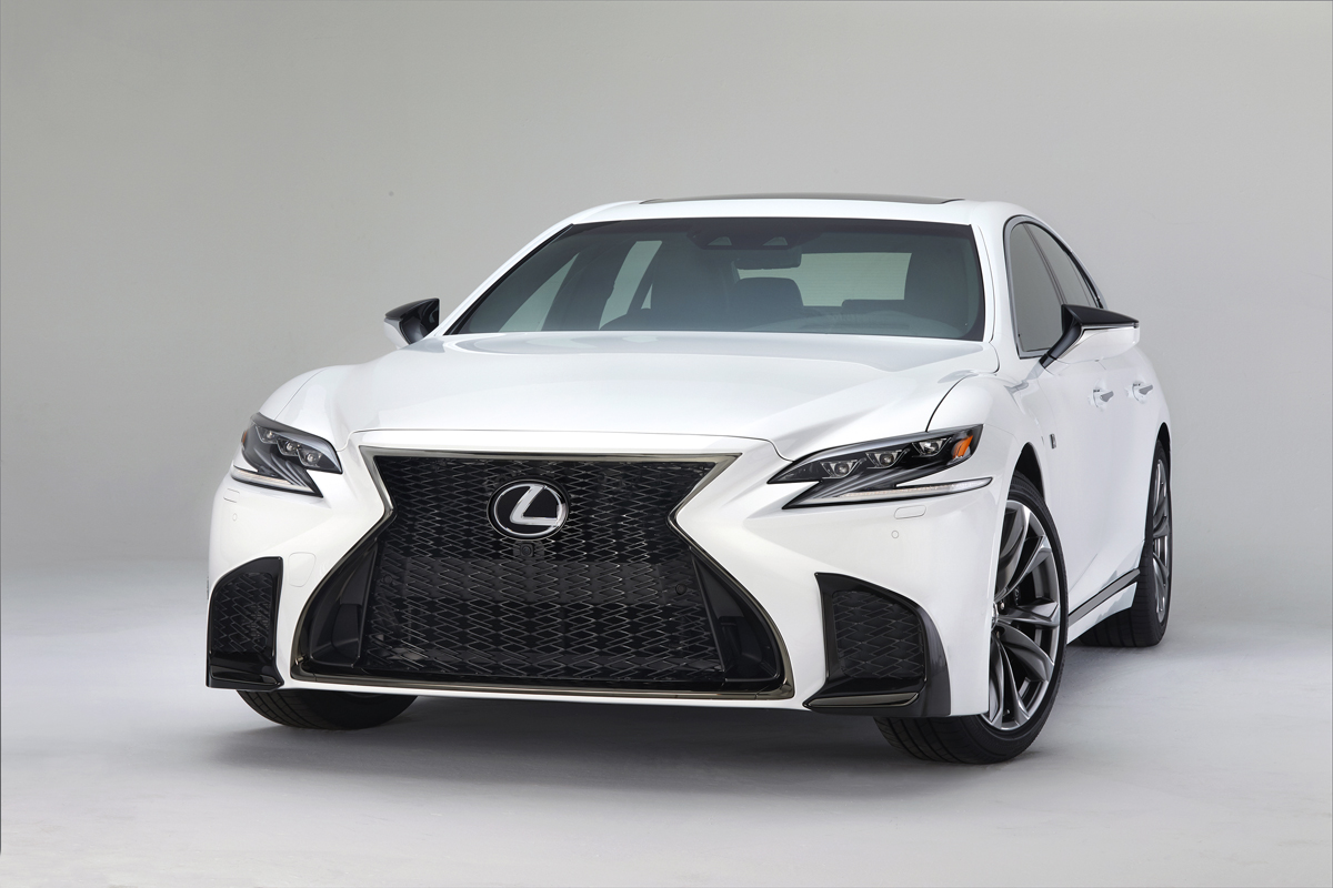 First Look: 2018 Lexus LS 500 & LS 500h F Sport ...