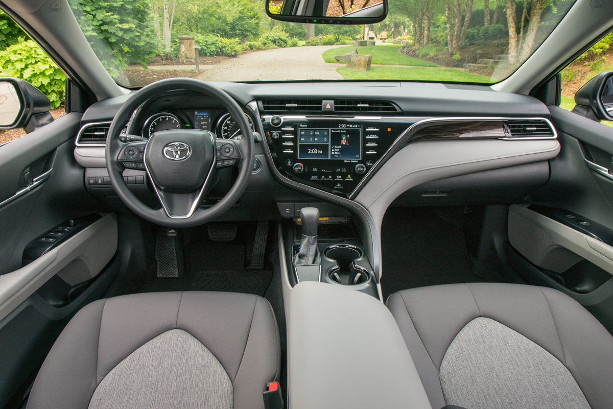 First drive 2018 toyota camry testdriven tv for 2018 toyota camry interior colors