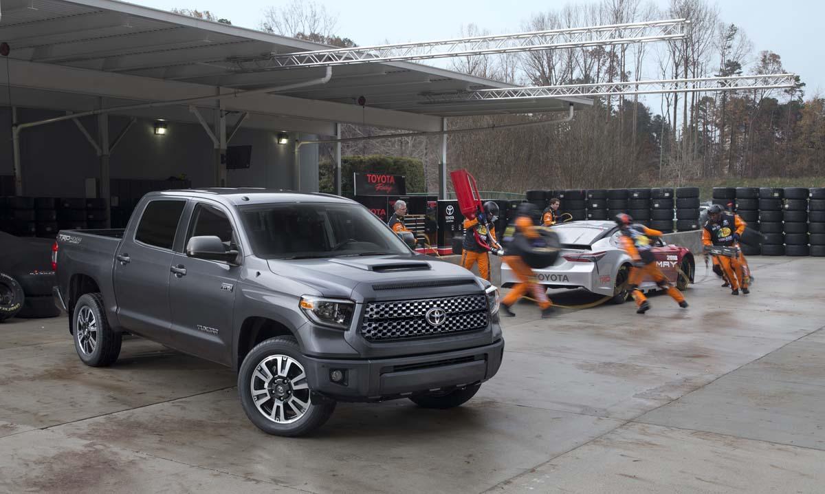 Popular First Look 2018 Toyota Tundra TRD Sport  TestDrivenTV