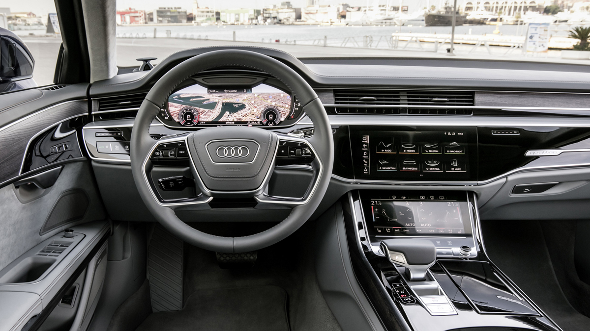 First Look 2019 Audi A8 Testdriven Tv