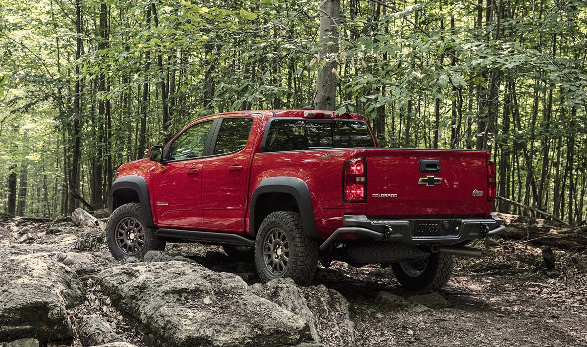 The Colorado ZR2 Bison is Chevrolet's first collaboration with
