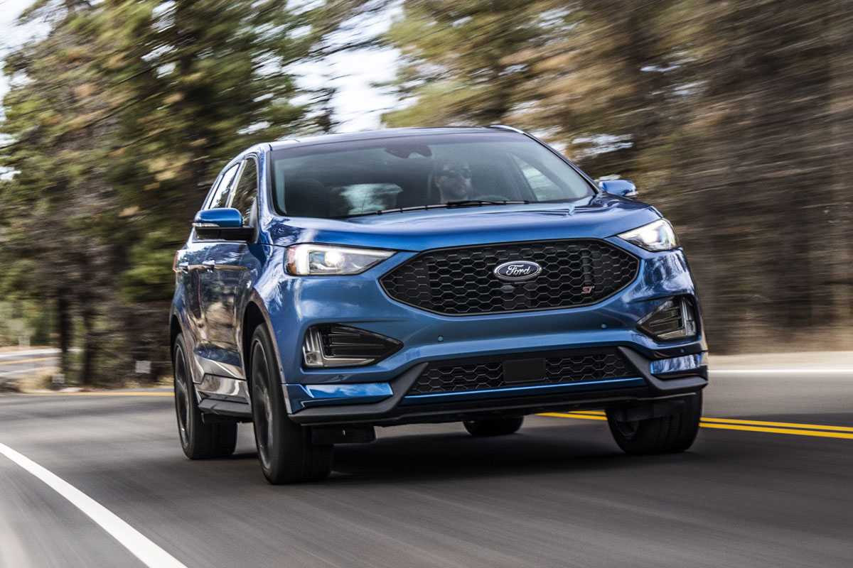 First Look: 2019 Ford Edge ST - TestDriven.TV