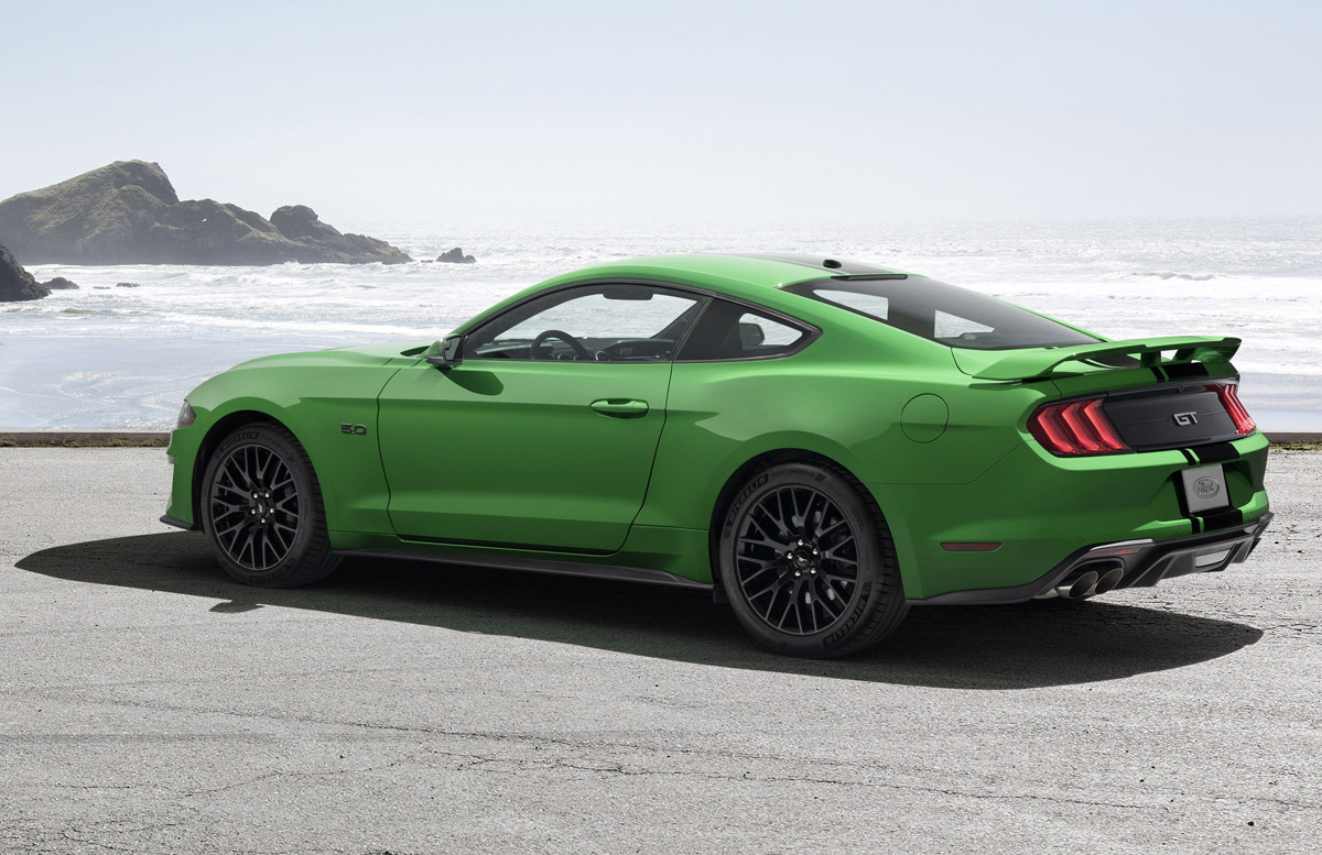 Need For Green Mustang