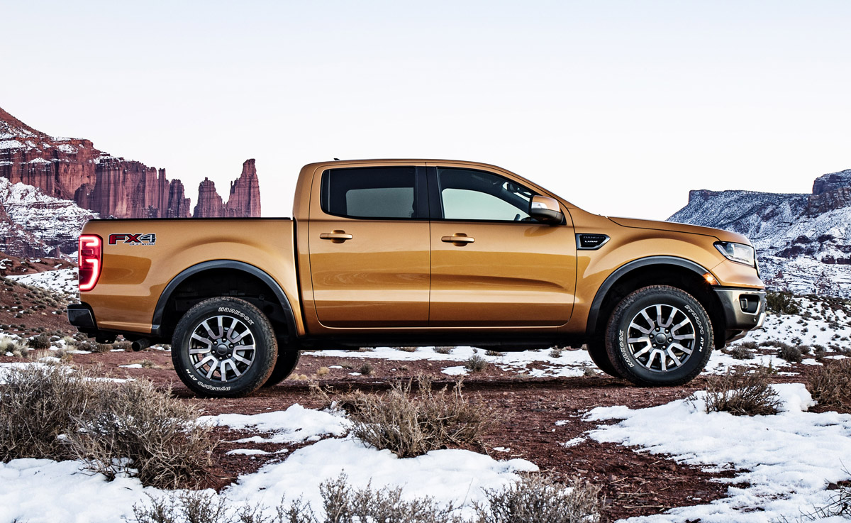 First Look: 2019 Ford Ranger - TestDriven.TV