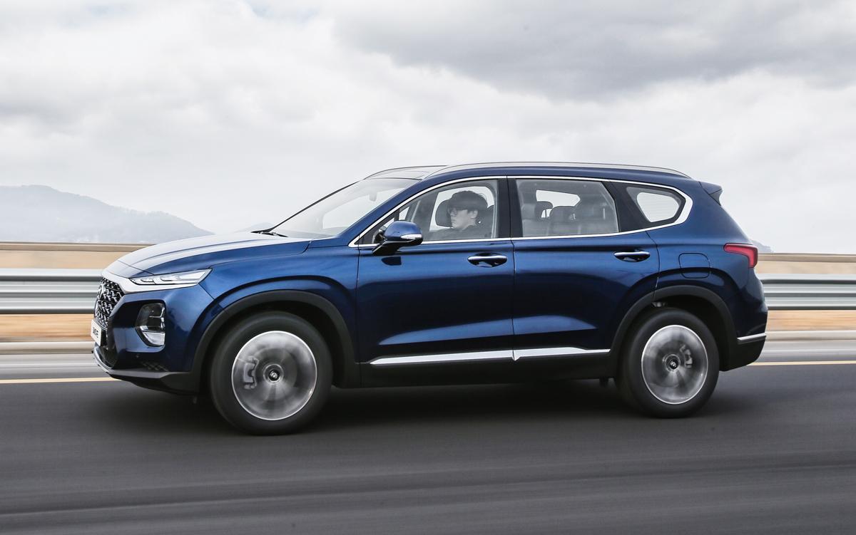 Hyundai Santa Fe Towing Review U003eu003e First Look: 2019 Hyundai Santa Fe    TestDriven