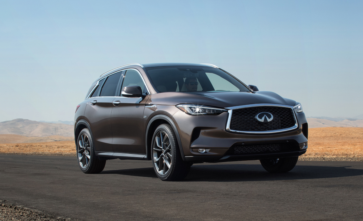 2019 INFINITI QX50 global reveal