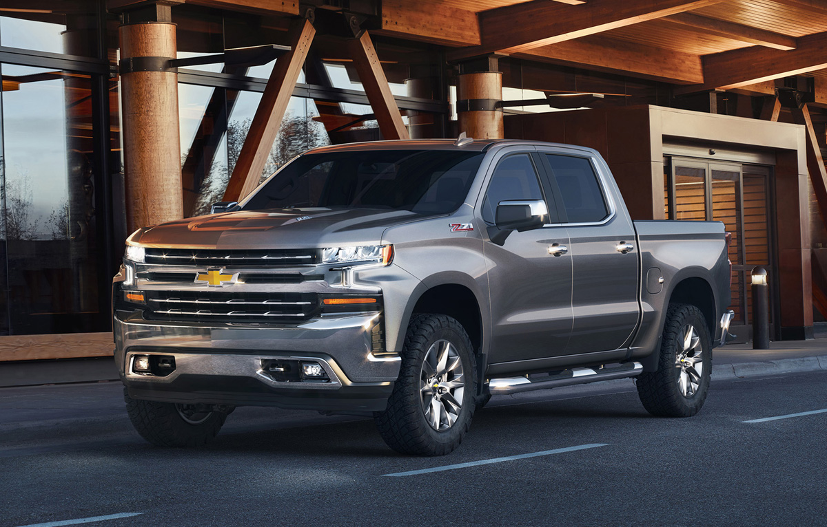 Trim Grades Explained: 2019 Chevrolet Silverado ...