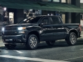 The all-new 2019 Silverado Custom features a body-color styling