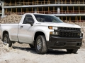 "The all-new 2019 Silverado Work Truck features a ""CHEVROLET"""