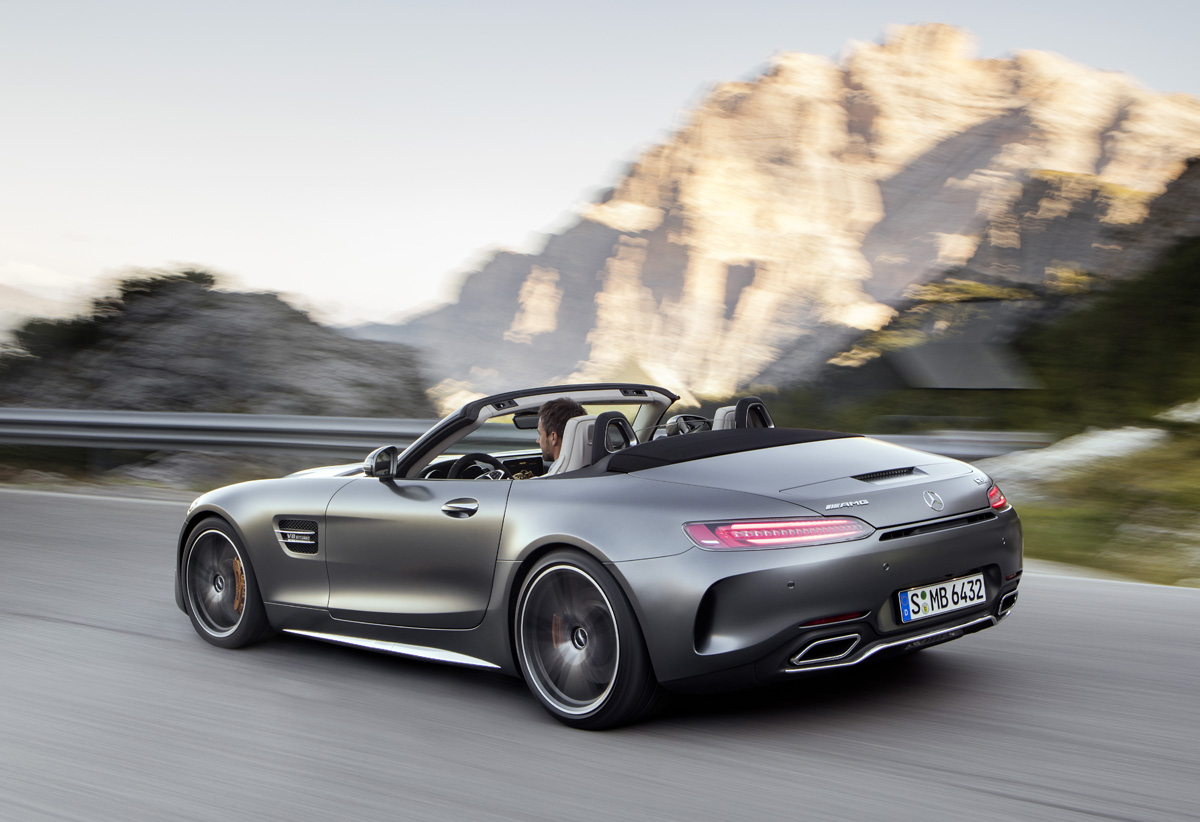 First Look: 2018 AMG GT C Roadster - TestDriven.TV
