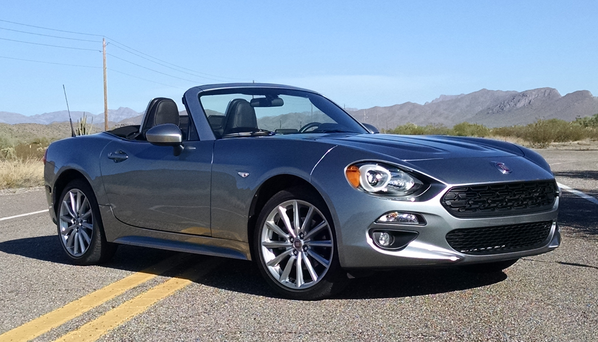 first drive 2017 fiat 124 spider testdriven tv. Black Bedroom Furniture Sets. Home Design Ideas