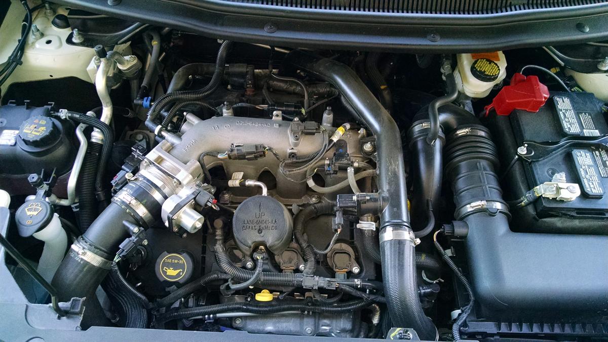Under The Hood Ford Explorer 3 5 Ecoboost Testdriven Tv