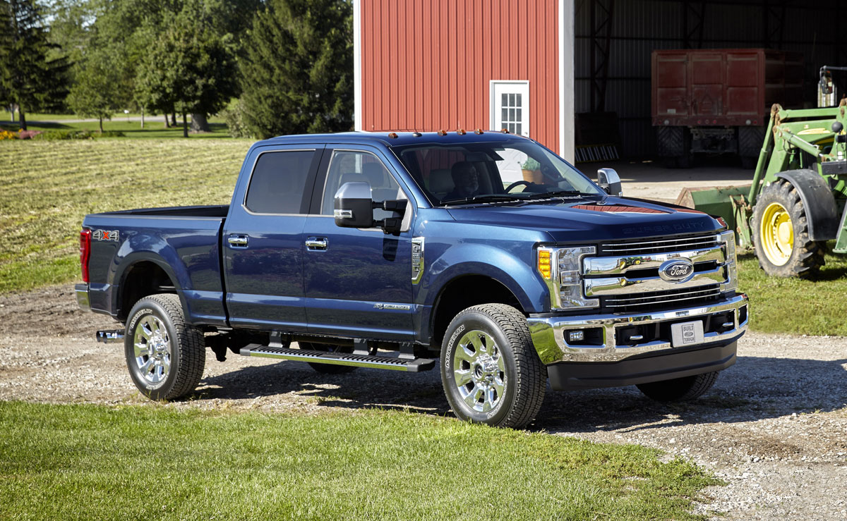 proving ground tests  2017 ford f-series super duty