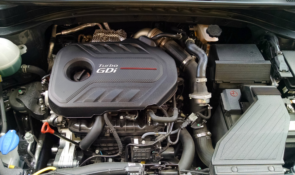 Engine Coolant Low >> Under The Hood: 2017 Kia Sportage SX 2.0 Turbo - TestDriven.TV