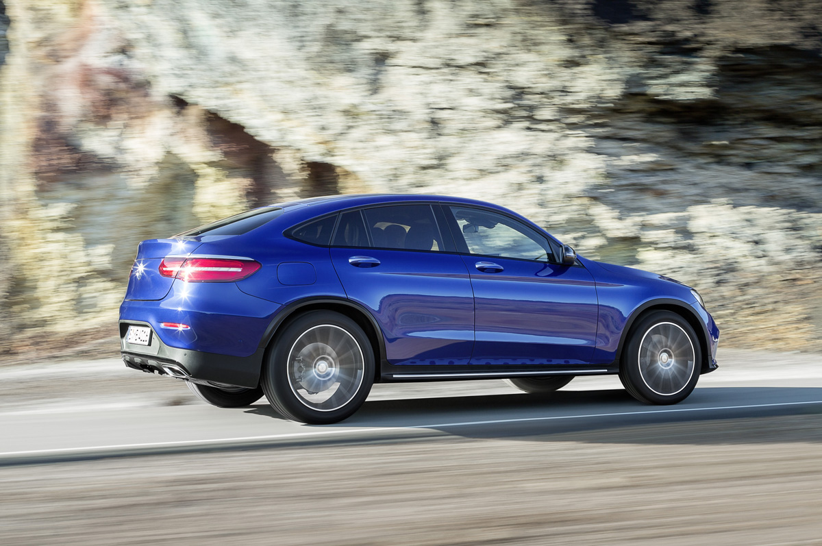 First Look Mercedes Benz Glc Coupe Testdriven Tv