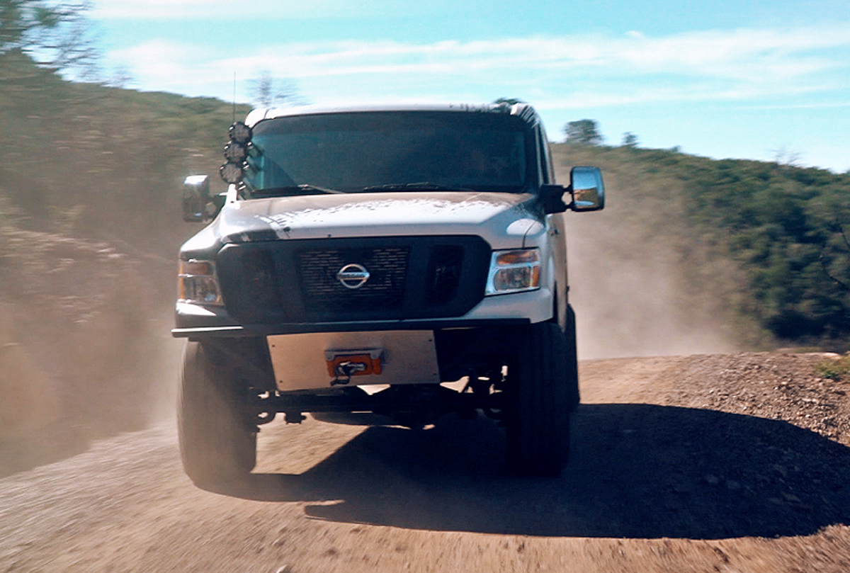 Nissan Nv Lifted Auto Express