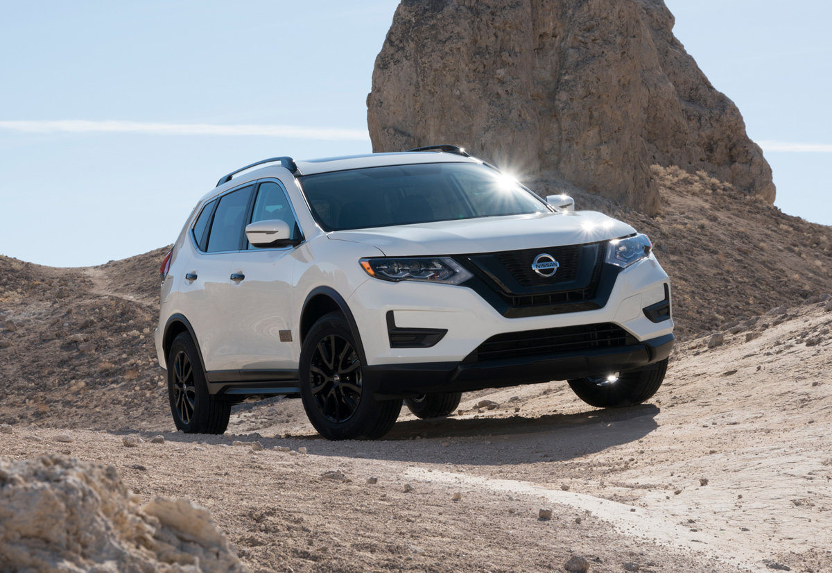 First Look: 2017 Nissan Rogue One Star Wars Limited ...
