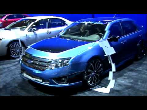 SEMA 2009: Ford Vehicles At Ford Booth