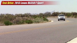 Test driven: 2013 Lexus RX-350 F-Sport