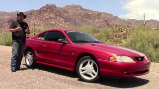 "1995 Mustang ""Project Rewind"" gets underway for 50th Anniversary bash!"