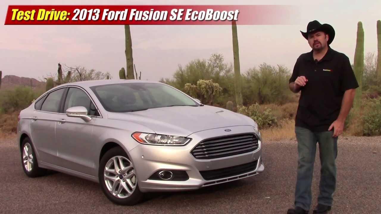 test driven 2013 ford fusion se ecoboost testdriven tv. Black Bedroom Furniture Sets. Home Design Ideas