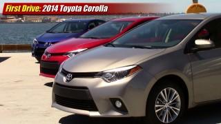 First drive: 2014 Toyota Corolla