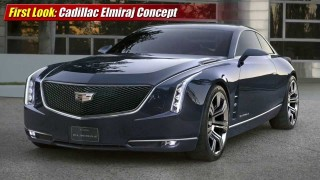 First Look: Cadillac Elmiraj Concept at 2013 Pebble Beach