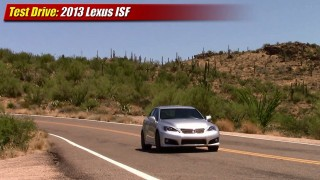Test driven: 2013 Lexus IS-F