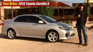 Test driven: 2013 Toyota Corolla S
