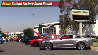 Events: Saleen factory tour and open house car show 2013