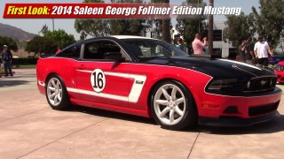 First look: 2014 Saleen George Follmer Edition Mustang