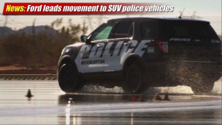 News: Ford leads movement to SUV's for police pursuit vehicles
