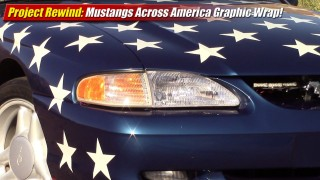 Project Rewind: Mustangs Across America Pace Car Wrap!
