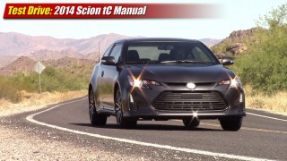 Test driven: 2014 Scion tC Manual
