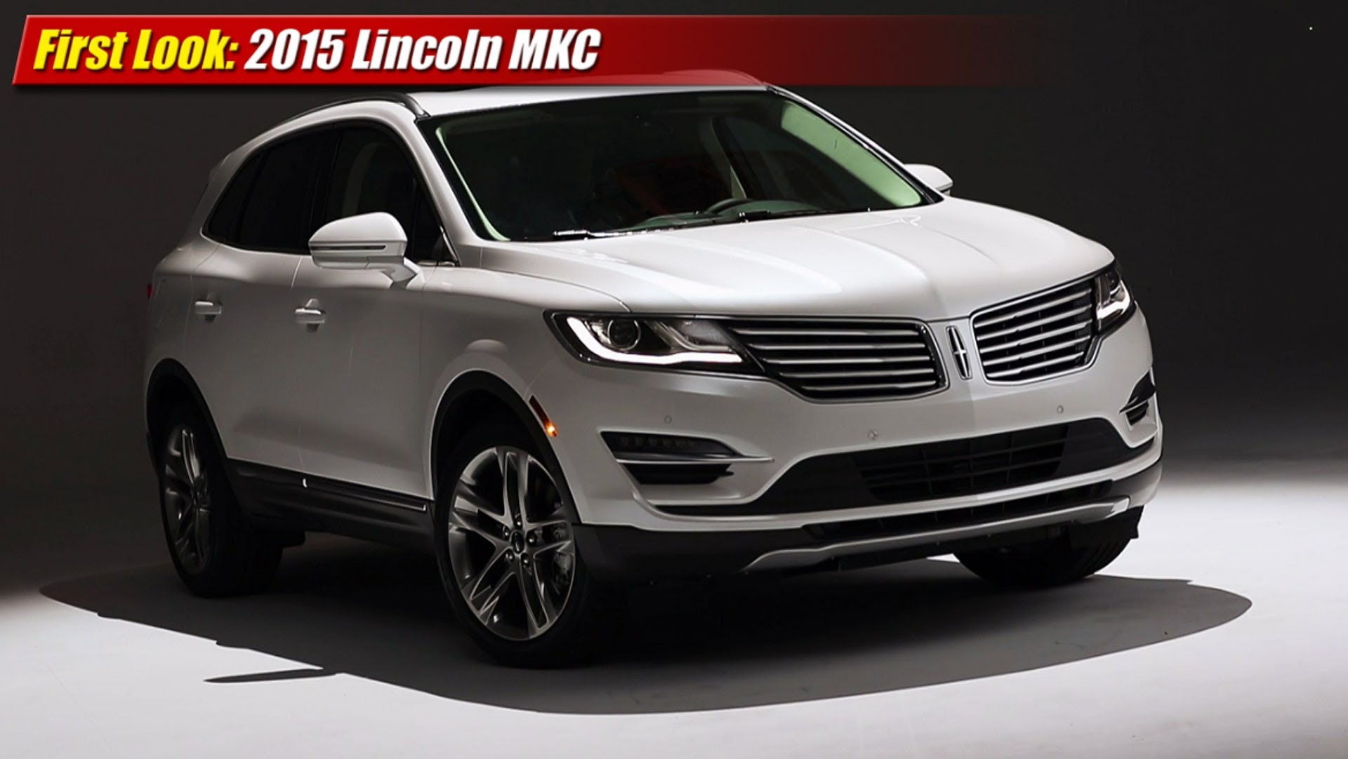 first look 2015 lincoln mkc luxury crossover suv testdriven tv. Black Bedroom Furniture Sets. Home Design Ideas
