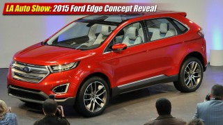 LA Auto Show: 2015 Ford Edge Concept Reveal
