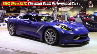 SEMA Show 2013: Chevrolet Booth Performance Cars