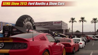 SEMA Show 2013: Ford Booths and Show Cars