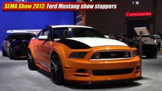 SEMA Show 2013: Ford Mustang show stoppers