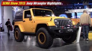 SEMA Show 2013: Jeep Wrangler Highlights