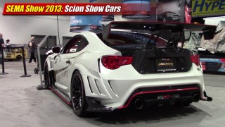 SEMA Show 2013: Scion Show Cars