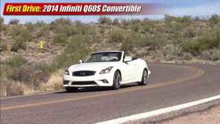 First drive: 2014 Infiniti Q60S Convertible MT