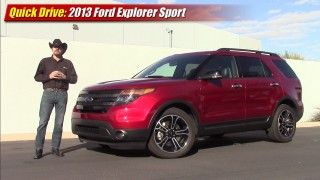 Quick drive: 2013 Ford Explorer Sport