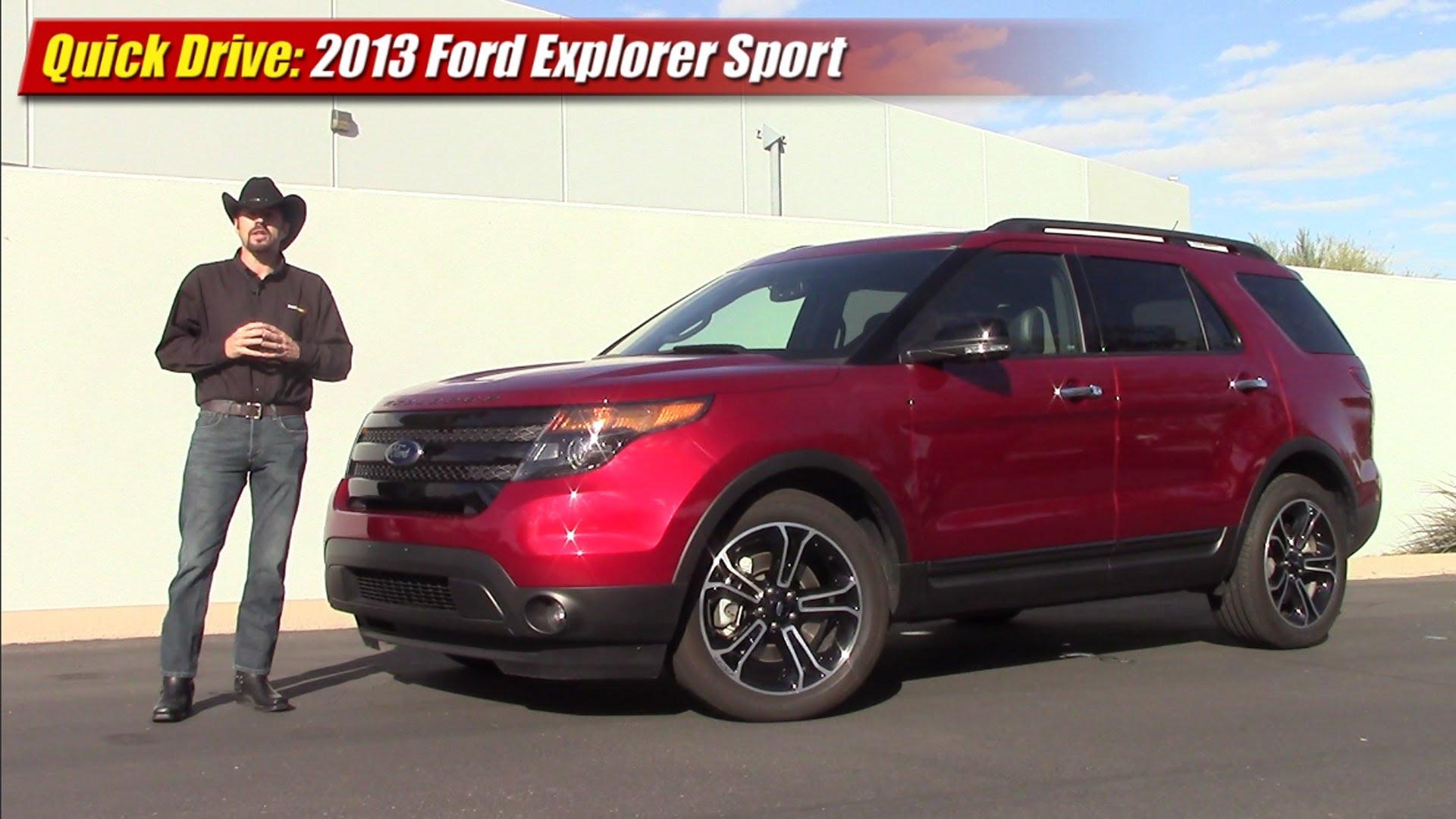 Quick Drive 2013 Ford Explorer Sport Testdriven Tv