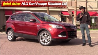 Quick drive: 2014 Ford Escape Titanium EcoBoost