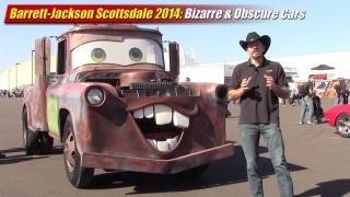Barrett-Jackson Scottsdale 2014: Bizarre & Obscure Cars